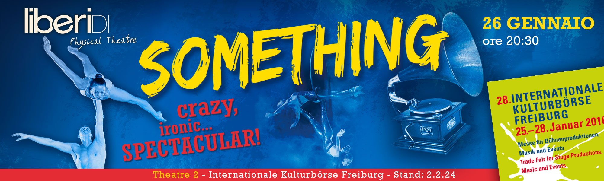 Festival Internazionale di Friburgo con Something!