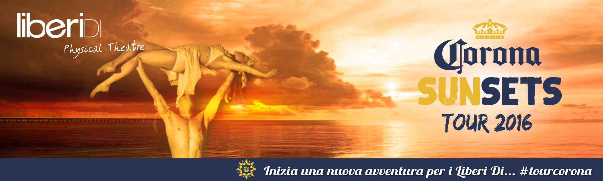 Corona Sunset Tour: i Liberi Di portano in giro l'estate!