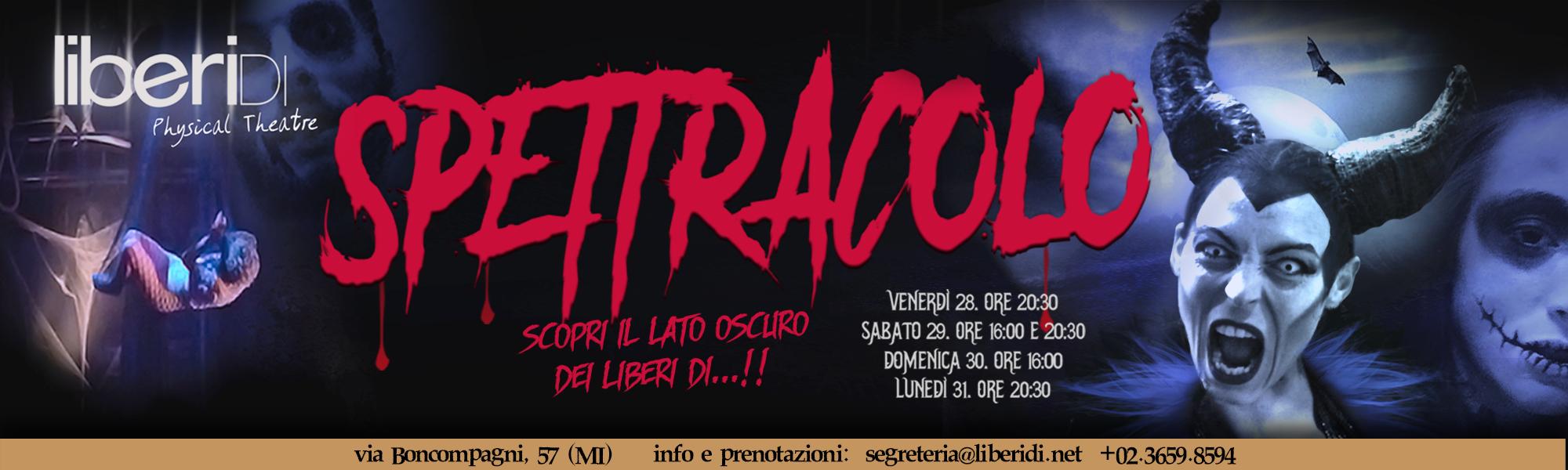 Spettracolo 28/10/2016 - LiberiDi
