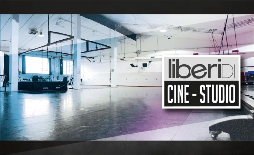 liberi Di...Cine-Studio, location multifunzionale, con servizio Rigger, controfigure e acrobati, utilizzato per produzioni televisive, video musicali, spot pubblicitari e molto altro.